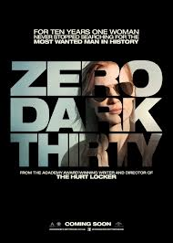 Zero Dark Thirty, strong women, women in the movies