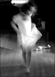 loreena b:w girl dancing