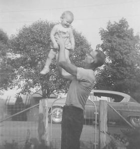 My Papaw with me, his first grandchild.