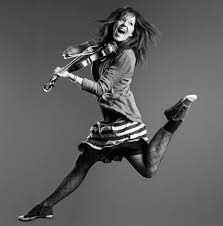Lindsey Stirling with my take on life.