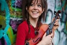 Lindsey Stirling, an infectious, totally new kind of violinist.