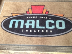 The Malco Theatre welcome mat