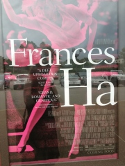 The Frances Ha poster outside the Malco Ridgeway Theatre in Memphis