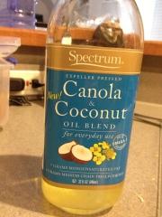 My favorite canola/coconut oil blend