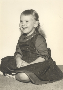 Five-year-old me in 1963.