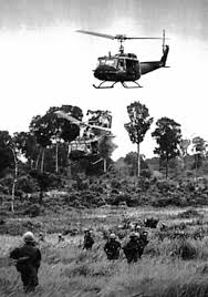 Vietnam helicopter pilots, such as Daddy's cousin Frank, risked their lives to save the wounded.