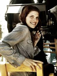 "Director/writer/co-producer/star Lake Bell on the set of ""In A World""."