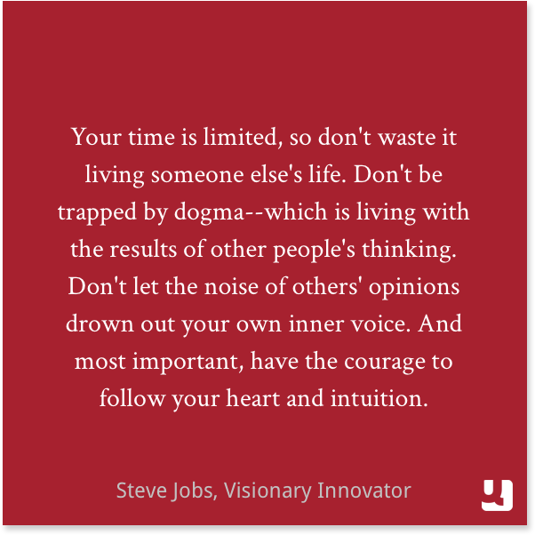 Steve Jobs Your Time Is Limited Quote