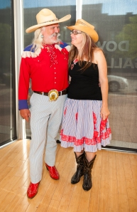 Cowtown couple