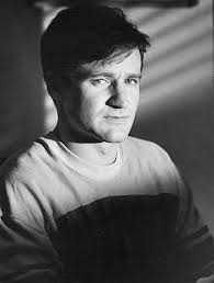 "Robin Williams during the filming of ""The World According to Garp"""