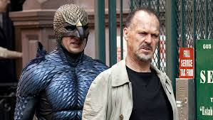 "Michael Keaton with his ""Birdman"" alter ego--the worst film I saw this year"