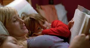 "Patricia Arquette and Ellar Coltrane in ""Boyhood"""