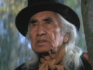 "Chief Dan George in ""The Outlaw Josey Wales"", 1975"