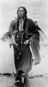 Quanah Parker, the only man ever to hold the title of chief of all the Comanche people.