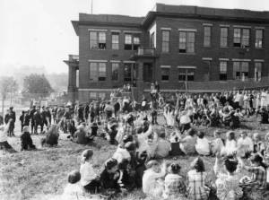 An elementary school in South Knoxville - 1950's.