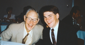 Daddy with his beloved grandson Justin in 1996.