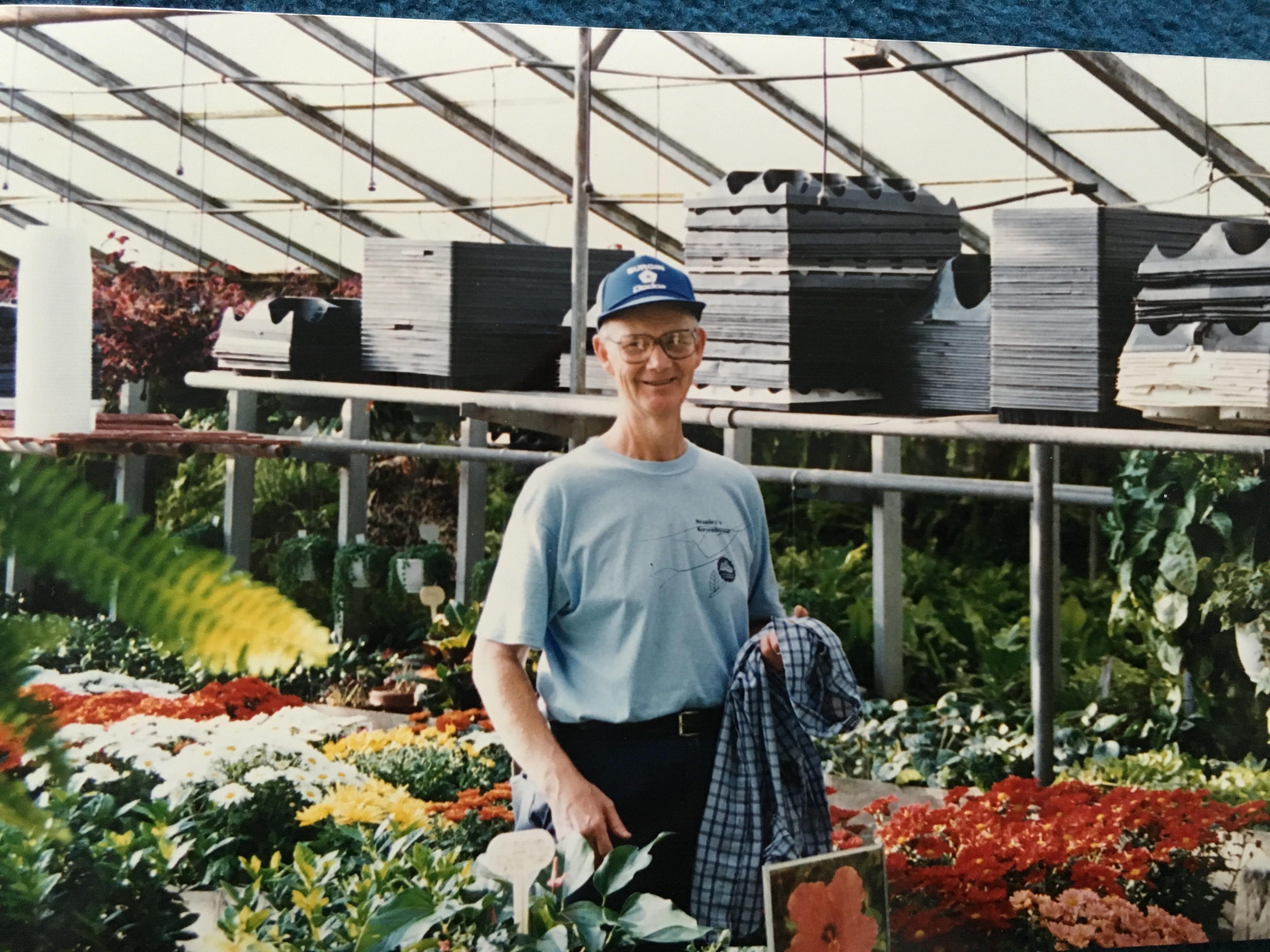 The greenhouse stanley - Daddy At His Last Job At Stanley S Greenhouse Early 2000s
